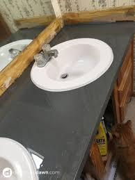 Spray Paint Bathroom Vanity Romantic Spray Painted Bathroom Counter Ad Aesthetic Of Countertops