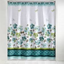 Dragonfly Shower Curtains Mainstays Dragonfly Shower Curtain And Hook Set Walmart