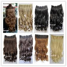 one clip in hair extensions 1pc 100g pc woman curly clip in hair extension 29 colors one