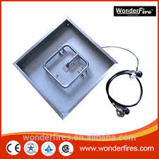 Fire Pit Insert Square by Stainless Steel Square Drop In Fire Pit Pan 12