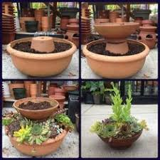 Make A Brick Succulent Planter - this is such a great idea display of succulents in pots the