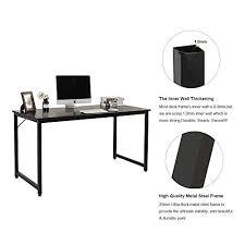 Black And White Computer Desk Amazon Com Dland Home Office Computer Desk Table Jjb 120
