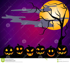 halloween graphic art halloween pumpkin patch faces stock image image 3312671
