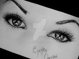 realistic pencil drawing eyes by cynthiaoorschot on deviantart