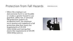 Osha Chair Requirements Fall Protection Osha New General Industry 2017 Standard