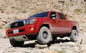 best tires for toyota tacoma road test review 2011 toyota tacoma t x pro pickuptrucks