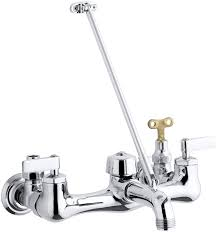 kohler k 8908 cp kinlock service sink faucet polished chrome