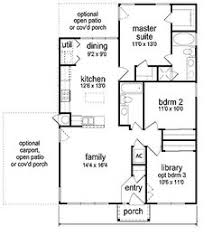 Modern Home Floor Plans Designs 1215sf This Plan Could Accommodate A Family Of Four Or Five Fairly