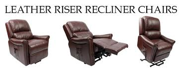 Dual Motor Riser Recliner Chair Leather Recliner Chairs Leather Riser Recliner Chairs