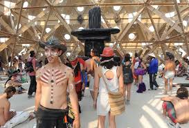 The Barning Train Burning Man Nevada U0027s U0027experiment In The Desert U0027 More Popular Than