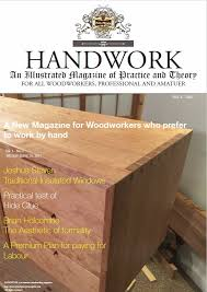 Practical Woodworking Magazine Download by Handwork Magazine Out Now U2013 Journeyman U0027s Journal