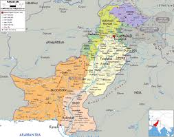 Pakistan On The Map Maps Of Pakistan Detailed Map In English Tourist New On World