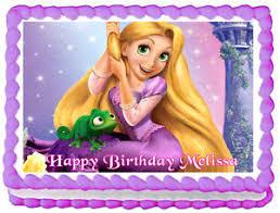 rapunzel cake topper tangled rapunzel birthday image edible cake topper design ebay
