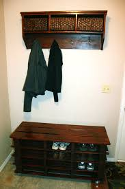 25 ingenious pallet projects and ideas shoe rack bench coat