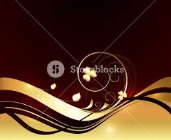 abstract golden ornamental flourish royalty free stock image