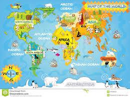 kids maps newfoundland map