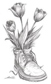 the 25 best flower drawings ideas on pinterest flower sketches
