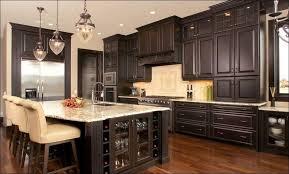 Cream Colored Kitchen Cabinets by Kitchen White Cabinets Dark Countertops Dark Oak Kitchen