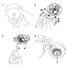 elektek light fitting lamp kit with strap bracket with hook