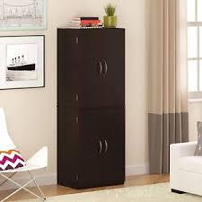 Wood Pantry Shelving by Storage Cabinet Kitchen Pantry Organizer Wood Furniture Cupboard
