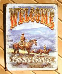 http www ebay com itm a 1672 cowboy country tin sign western