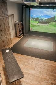 simulation room pro golf simulation room cmi construction springdale ar cmi