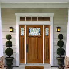 Etched Glass Exterior Doors Exterior Quarter Etched Glass Entrance Door Design With Solid