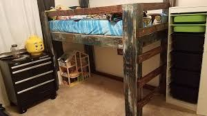 Build A Bunk Bed With Desk Underneath by Loft Beds 11 Steps
