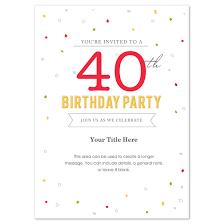 birthday invites outstanding birthday party invitation template