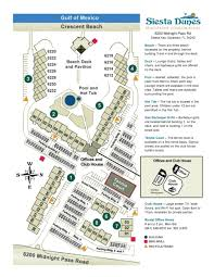 Siesta Key Florida Map by Siesta Dunes Sieata Key Fl