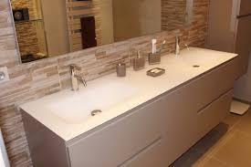 meuble cuisine pour salle de bain rénovation de salle de bain impressionnant utiliser meuble cuisine