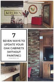 hickory wood nutmeg raised door updating oak kitchen cabinets