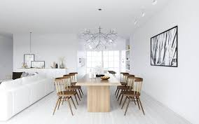 Scandinavian Dining Room Furniture 20 Astonishing Scandinavian Dining Room Ideas Rilane