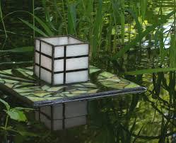 Japanese Garden Lamp by Ese Floating Lantern Garden Sculpture By Jewelsinthegarden With