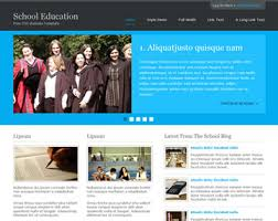 education website template free website templates os
