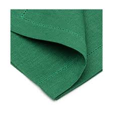 emerald green table runners cavaillon table runner dark green with hemstitch border