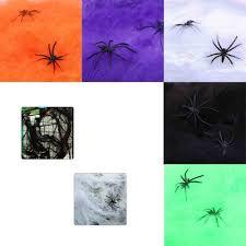 Spider Web Spider Cotton Bar Ktv Haunted House Decor Halloween