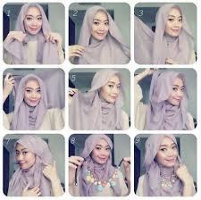 tutorial hijab resmi tutorial hijab modern tilan fashionable untuk acara formal