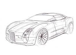 facel vega gt concept car coloring free cars