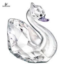 swarovski crystal lovlots figurine swan broadway audrey 1128901