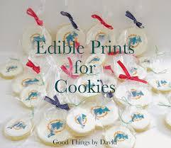 edible prints things by david edible prints for cookies