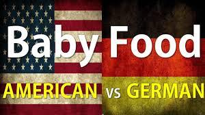 German Flag Meaning American Versus Germany Baby Food Youtube