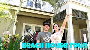 beach house tour in hawaii youtube