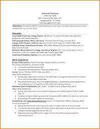 It Internship Resume College Internship Resume Template Free Resume Example And