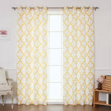 Sheer Gold Curtains 84