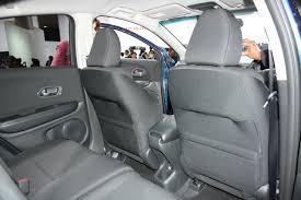Honda Vezel Interior Pics Honda Vezel Second Row Seats Indian Autos Blog