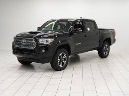 toyota tacoma blacked out new 2017 toyota tacoma trd sport double cab in mishawaka hm109637
