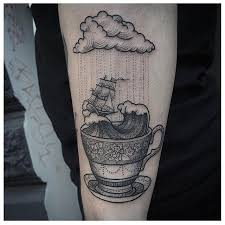 storm in a teacup 15 storm in a teacup tattoos that calm our restless hearts tattoodo
