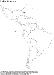 map of south america and mexico free blank map of and south america best central inside