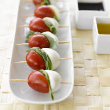 Dinner Party Hors D Oeuvre Ideas Wedding Hors D Oeuvres Recipes Ciliegie Mozzarella With Basil